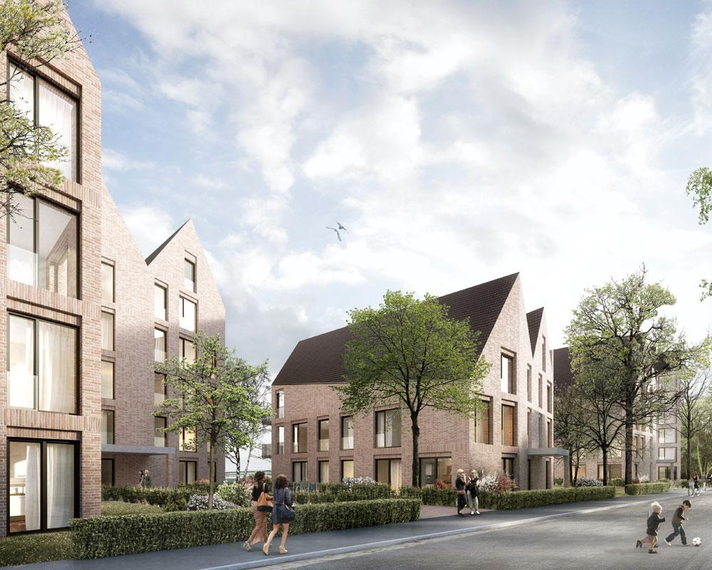 Neubauvorhaben von 5 Mehrfamilienhäusern mit Tiefgarage in Bremen