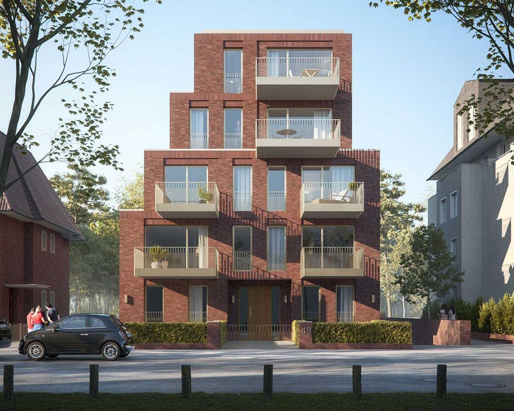 Neubau MFH Heinrich-Heine-Straße in Bremen