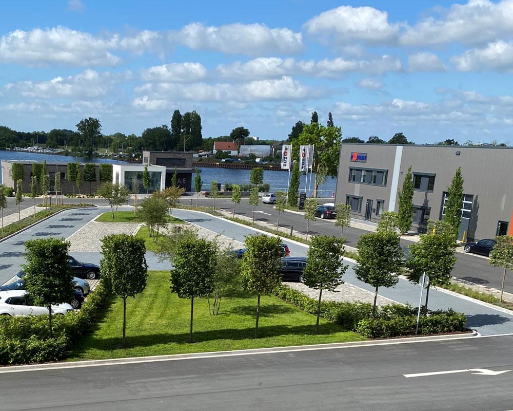 Neubau Gewerbepark Allerkai / Bremen