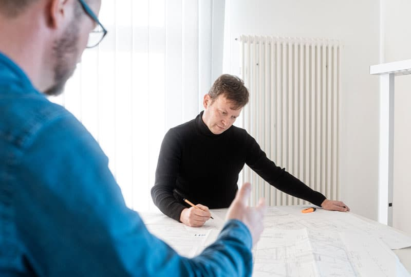 Wir koordinieren Ihr Bauprojekt: organisatorisch und wirtschaftlich