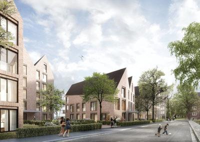 Neubauvorhaben von 5 Mehrfamilienhäusern mit Tiefgarage