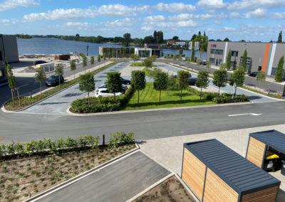 Neubau Gewerbepark Allerkai